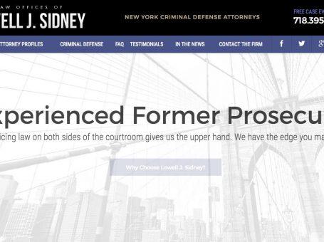 Lowell J. Sidney – Lawyer – NYC
