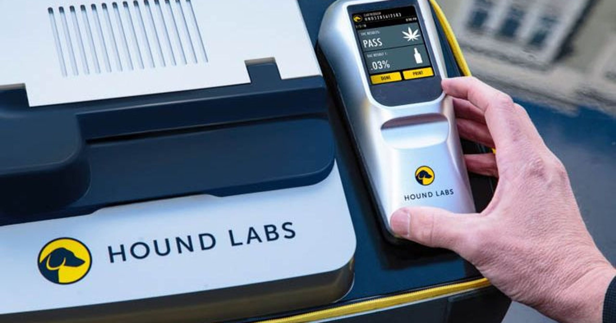 Marijuana breathalyzer aims to detect drivers who are still high