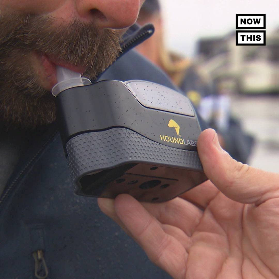 This might be the first weed breathalyzer