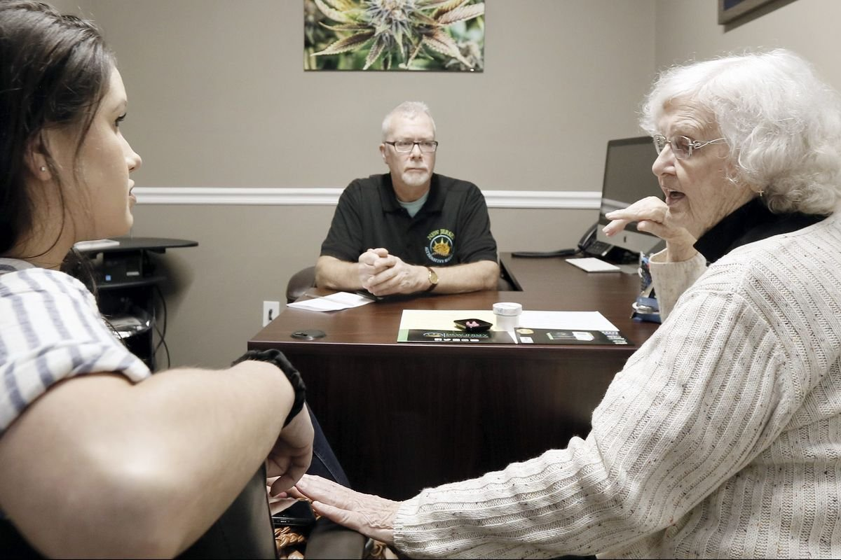 'Why not me?' Great-grandmas in New Jersey are getting on board with medical marijuana.