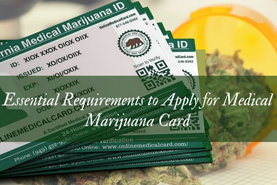 Essential Requirements to Apply for Medical Marijuana Card