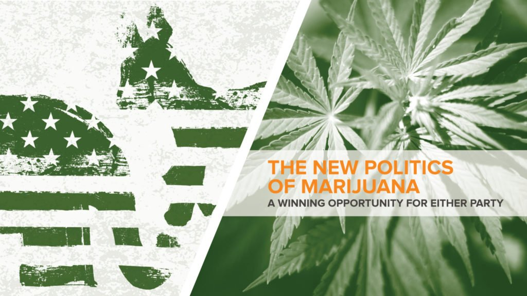 """National Cannabis Industry Association releases report: """"The New Politics of Marijuana: A Winning Opportunity for Either Party"""""""