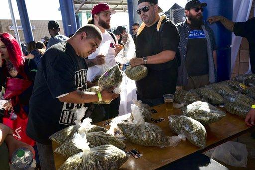 Marijuana legalization in 5 charts: A 2018 midterm report