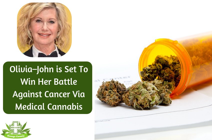 Olivia–John is Set To Win Her Battle Against Cancer Via Medical Cannabis