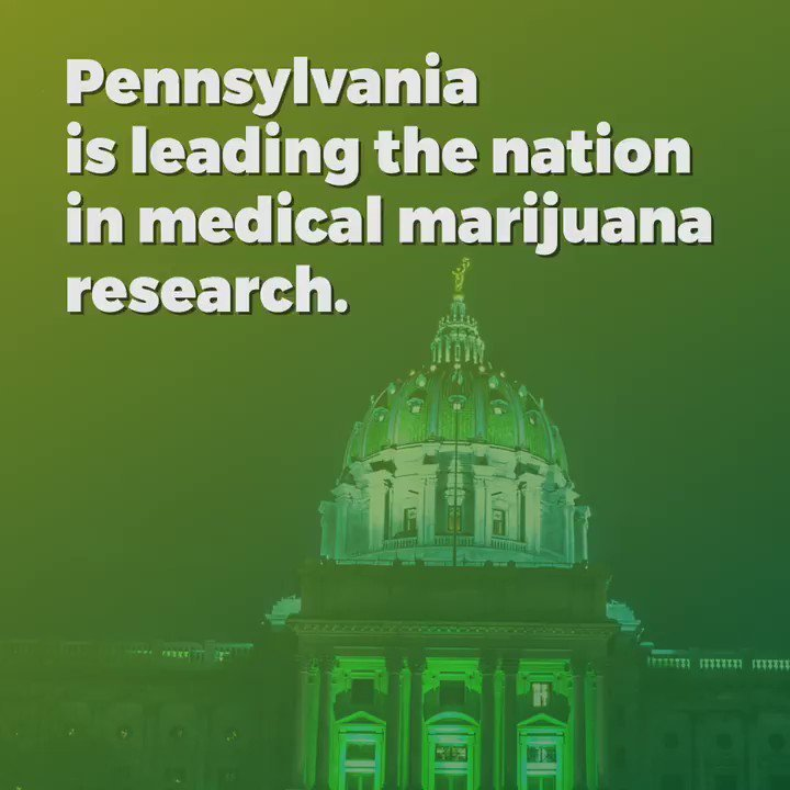 """Pennsylvania governor says his state is """"leading the nation in medical marijuana research."""""""