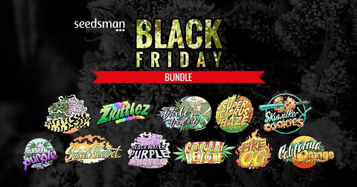 Black Friday cannabis seeds Deals 2018