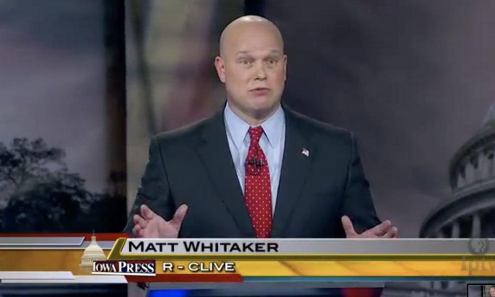 Jeff Sessions replacement Matt Whitaker on marijuana.