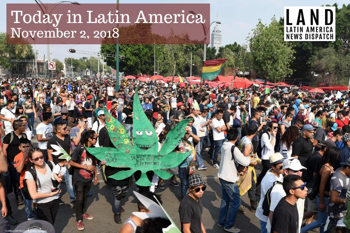 Mexican President-elect Andrés Manuel López Obrador said the government should respect the Supreme Court's decision to overturn marijuana criminalization