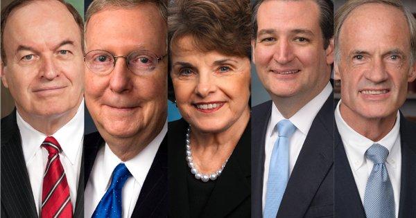 The 5 worst U.S. Senators on marijuana policy
