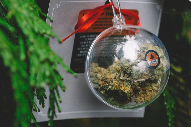 5 Weed Christmas Themed gift ideas for the holidays