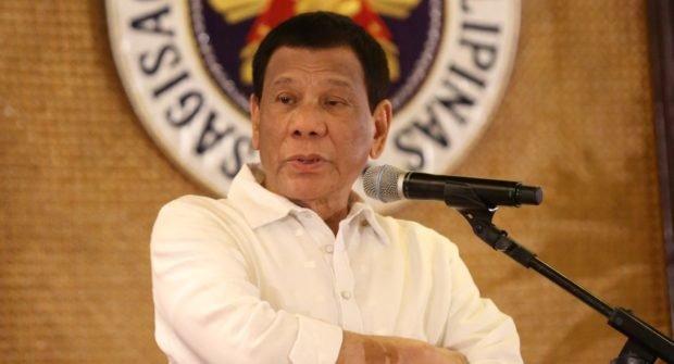 Duterte admits using marijuana to keep him awake