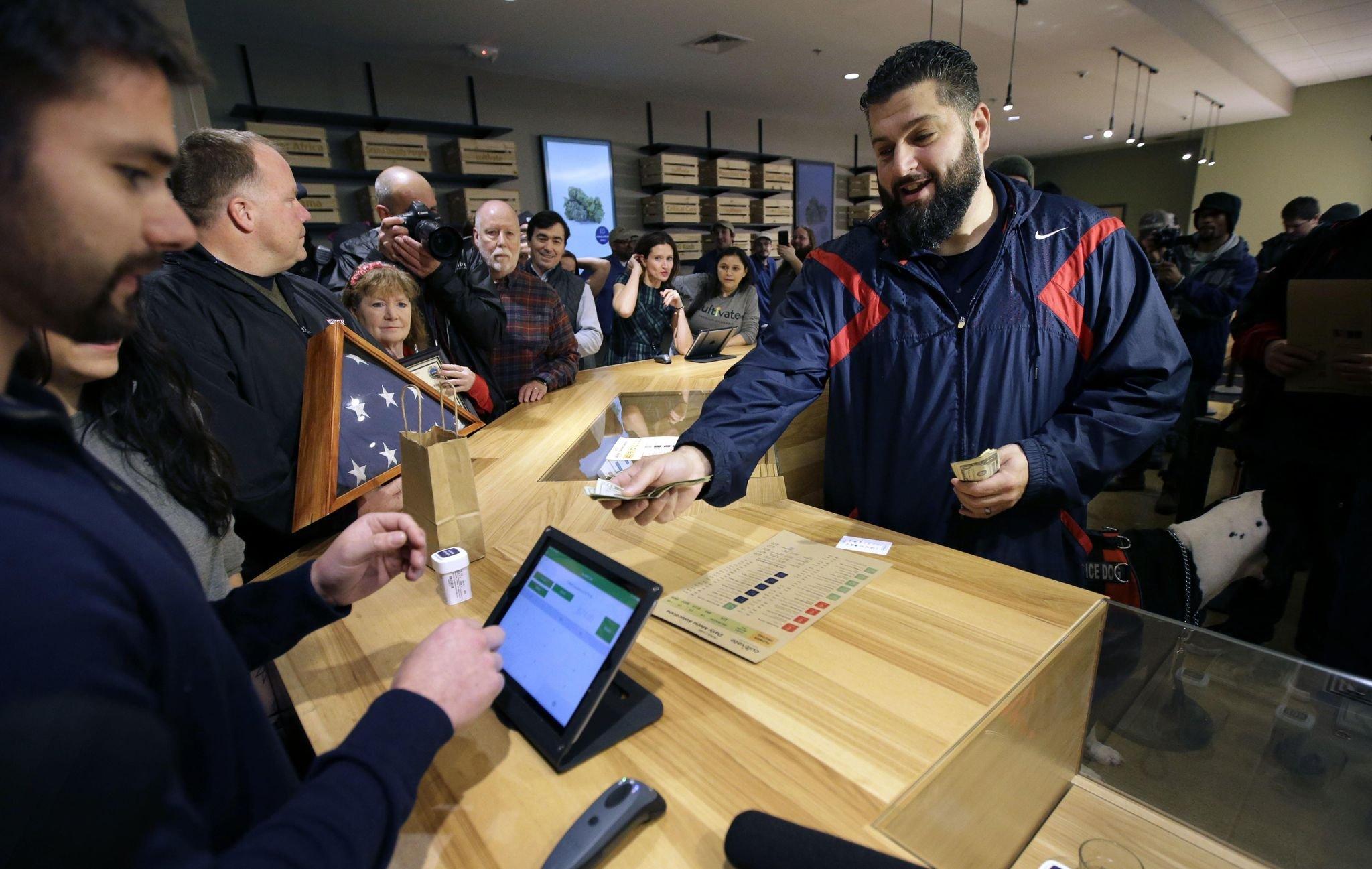 Marijuana regulators say customers spent $24 million at Mass. dispensaries during first two months