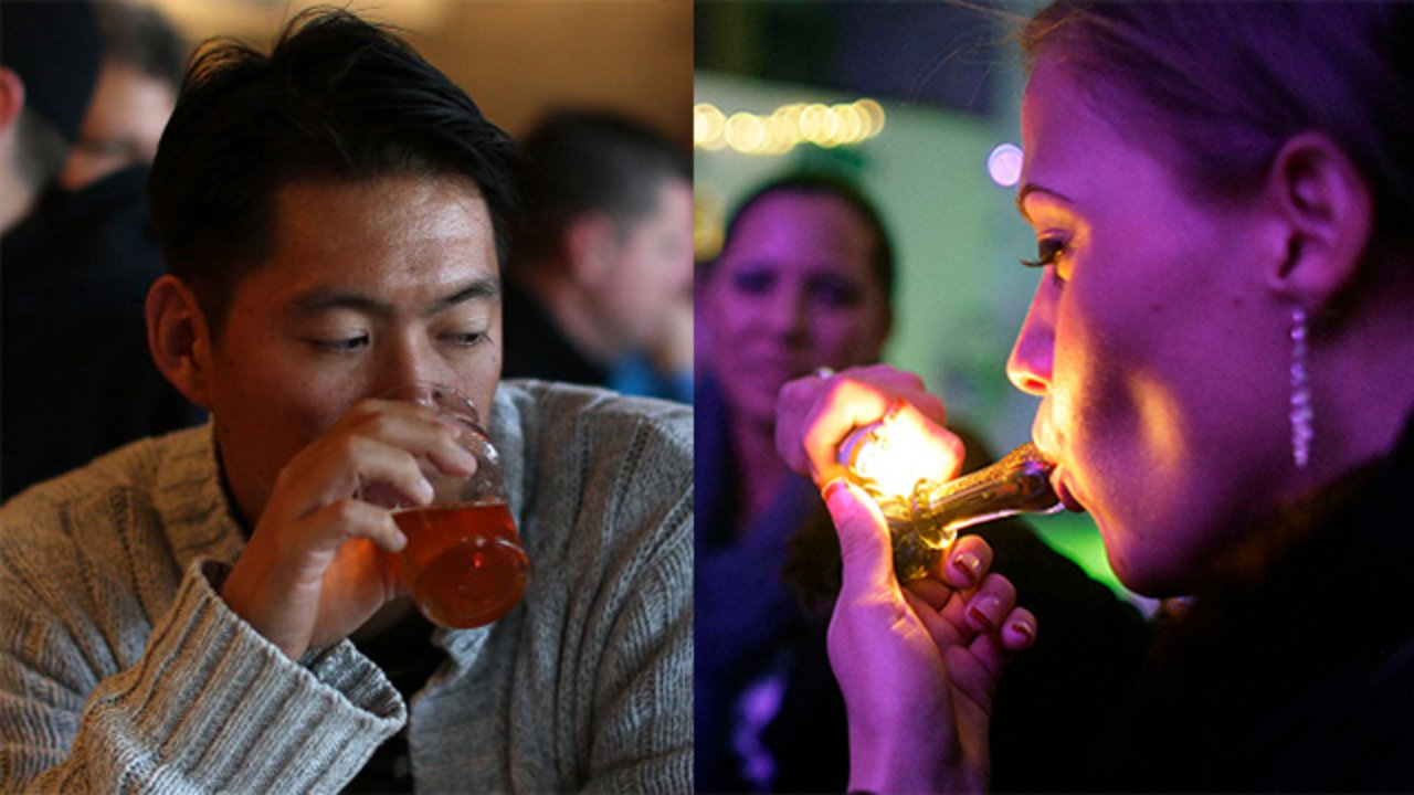 Poll: Do you believe marijuana is safer than alcohol?