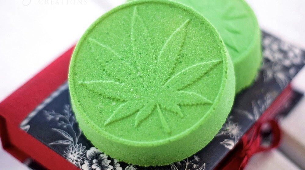 Bathing in Cannabis with CBD Bath Bombs! Great for Fibromyalgia & Improve Sleep.