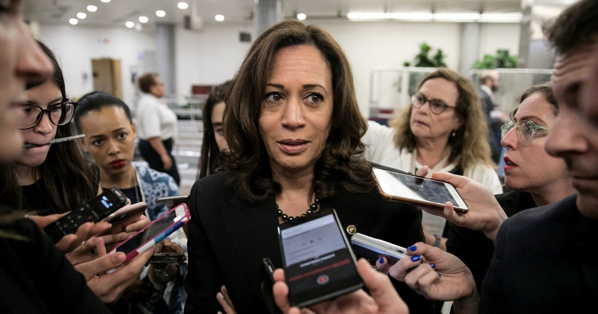 Kamala Harris gets scolding from father for pushing stereotype about Jamaicans smoking marijuana