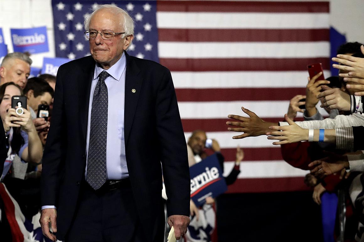 Bernie Sanders: 'Too many lives are being destroyed' by pot policy |Politico