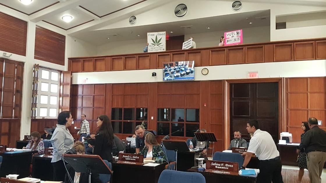 Guam legislature passes bill that would legalize recreational marijuana.