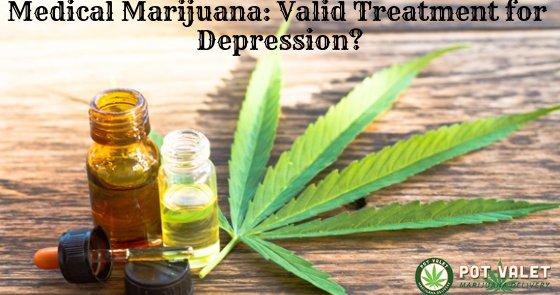 Marijuana: Treatment For Depression