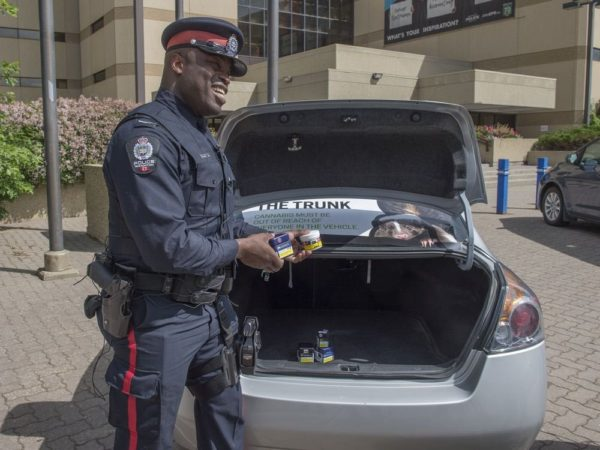 Edmonton police say legalized cannabis' impact 'lower than expected'