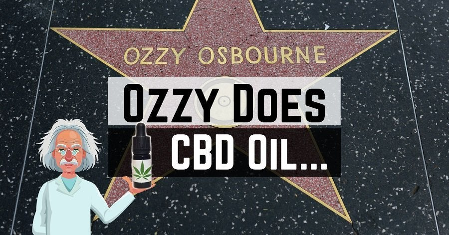 Ozzy Osbourne using cannabis oil for his recovery from pneumonia? Apprently still has to cancel all 2019 tour dates though :(