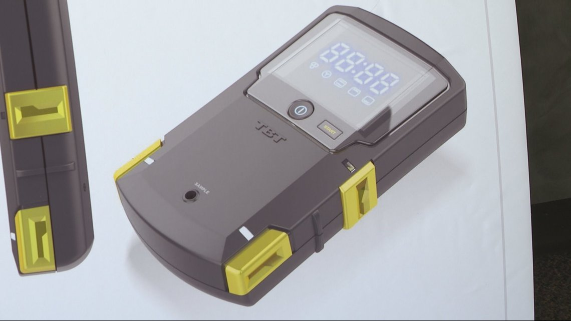 Marijuana testing device could allow police to find drug in someone's system within minutes of traffic stop
