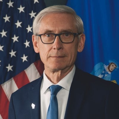 """Wisconsin Gov. Tony Evers (D) tweets, """"I'm all about connecting the dots. It's time to connect the dots between racial disparities and economic inequity by legalizing possession of small amounts of marijuana."""