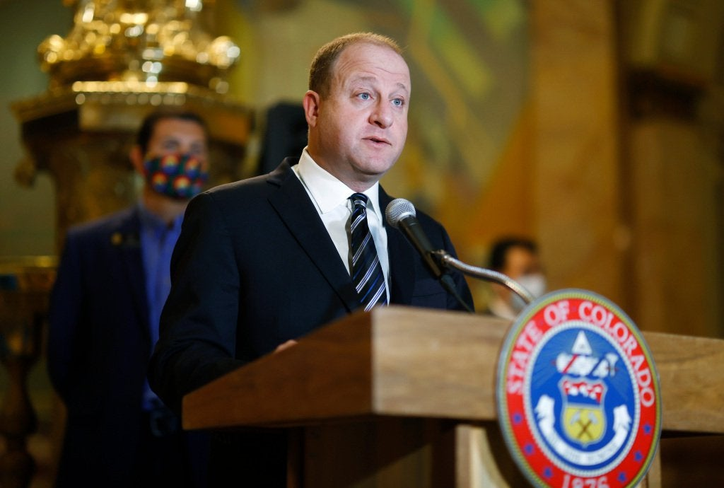 Colorado Gov. Jared Polis says pardons for marijuana convictions can start in 90 days