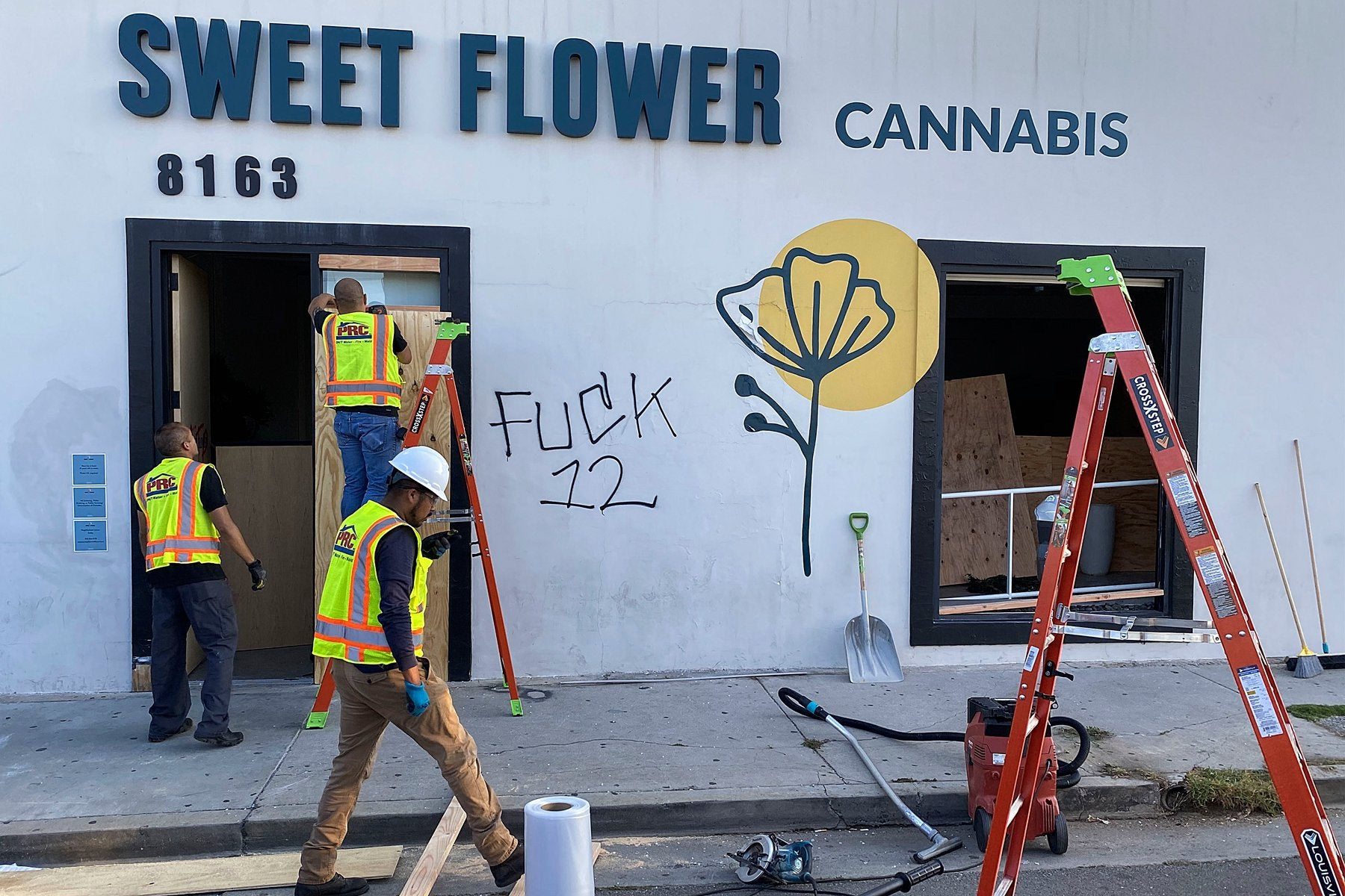 Weed Dispensaries, Destroyed and Looted in Late-Night Unrest, Face Uncertain Future