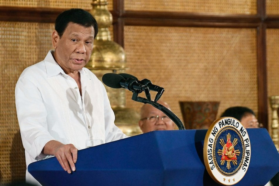 Duterte thumbs down medical marijuana