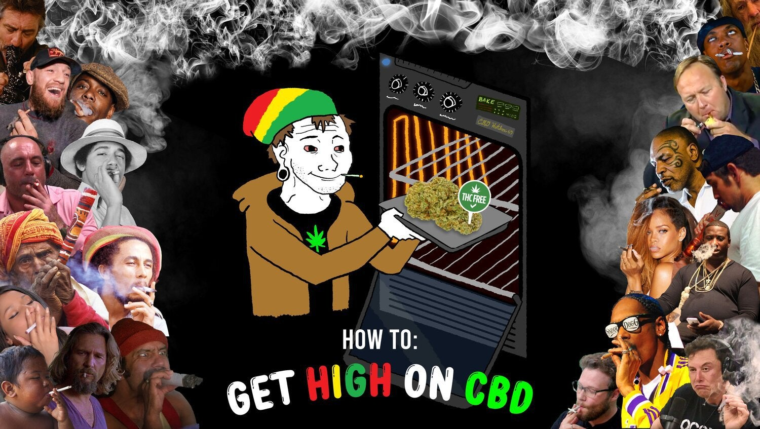 How to get high using CBD weed