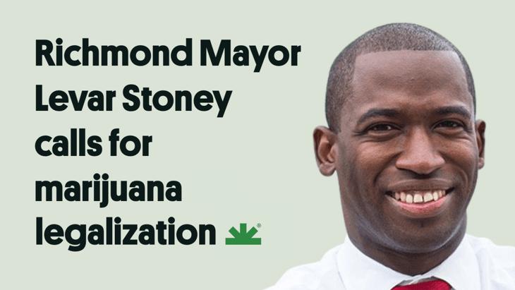 Virginia: Richmond Mayor Levar Stoney Calls for Marijuana Legalization