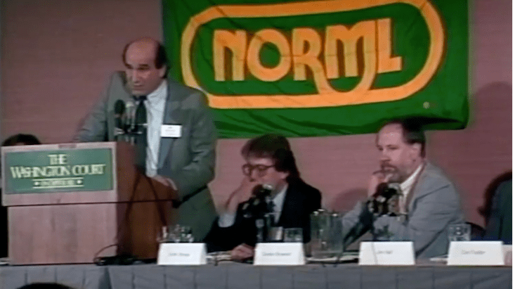 A Founder Looks at 50: Richard Wolfe and Gordon Brownell – Two Early NORML Freedom-Fighters
