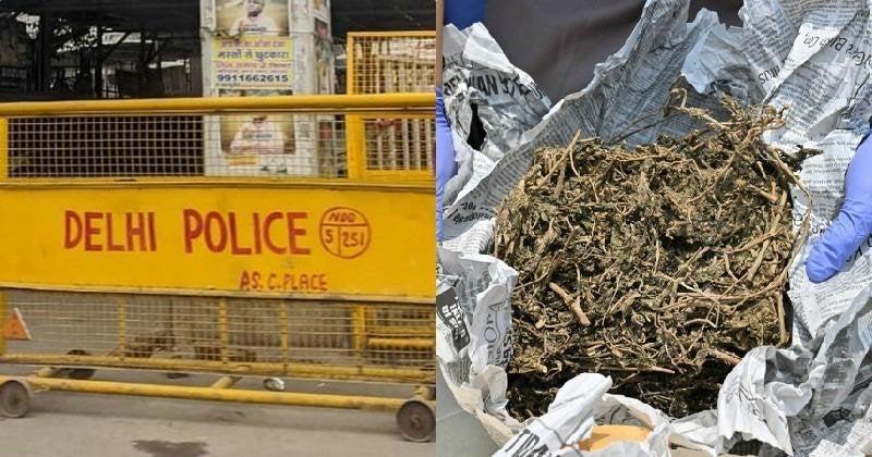 Delhi Police Seized 160 Kg Ganja, Reported 1 Kg & Sold The Remaining; Also Let Off The Peddler