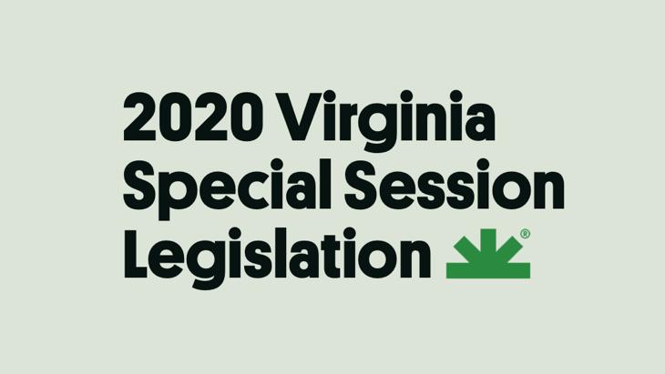 Virginia: Marijuana-related Bills Advance During Special Legislative Session