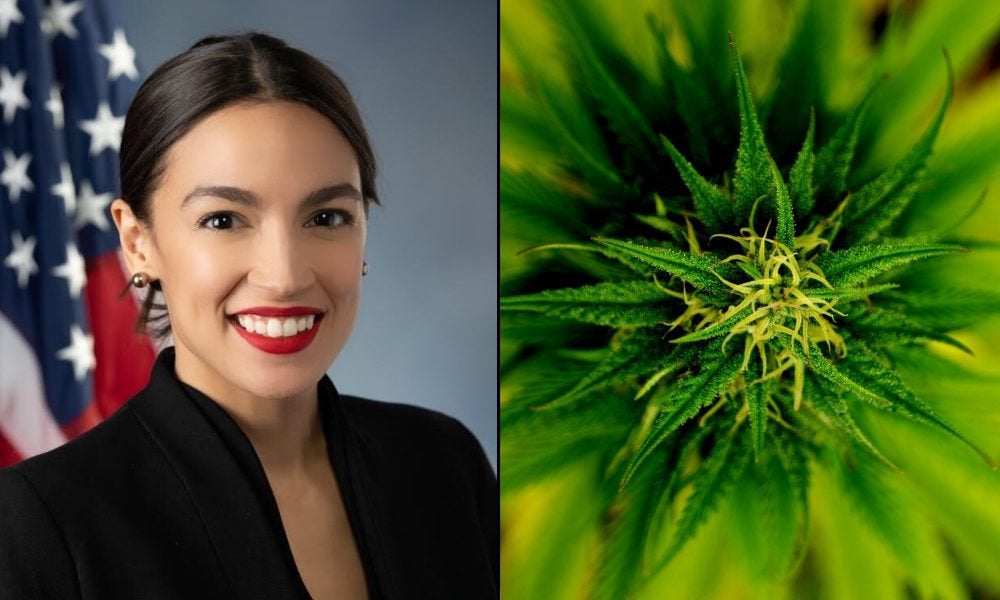 AOC Wants To Work With Republicans To Legalize Marijuana And End War On Drugs