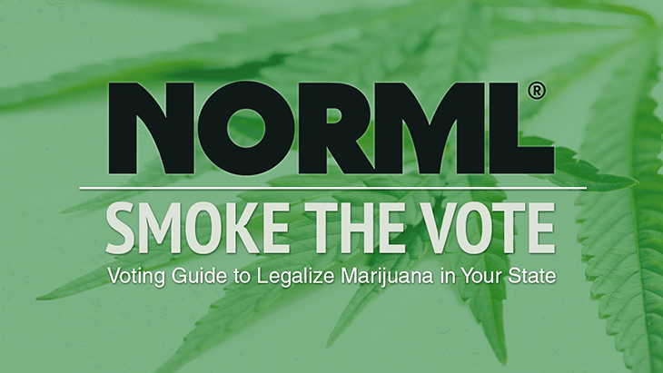 Days Before Election Day, Polls Show Strong Support for Marijuana Ballot Initiatives - NORML