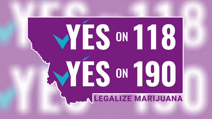 Montana: Support For Legalization Ballot Measures Strong Among Democrats, Independents - Weak Among Republicans - NORML