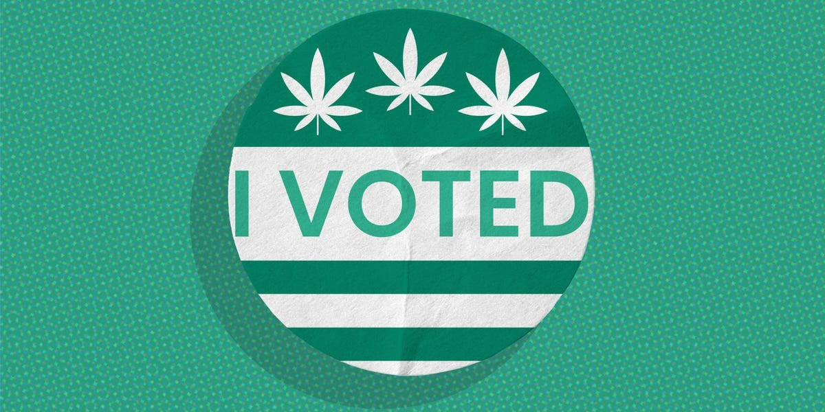 5 states are set to vote on marijuana legalization. Here's everything you need to know.